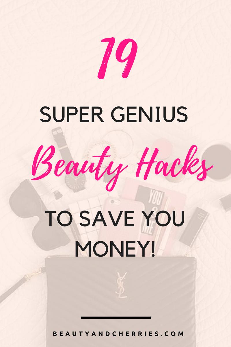 19 Super Genius Beauty Hacks To Save You Money