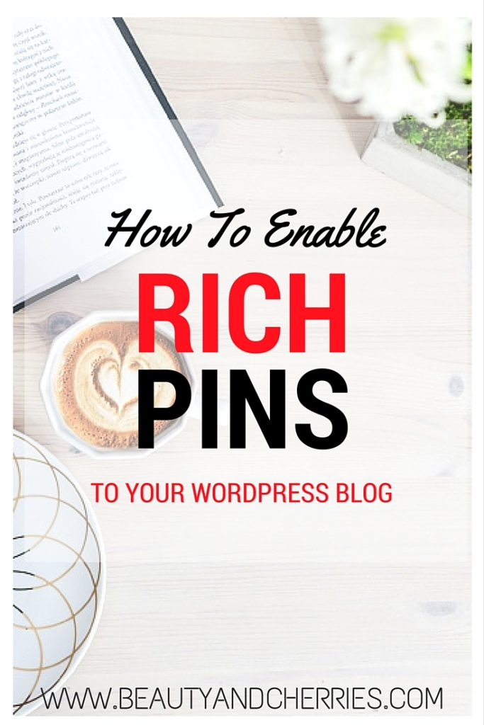 Rich Pins in Pinterest