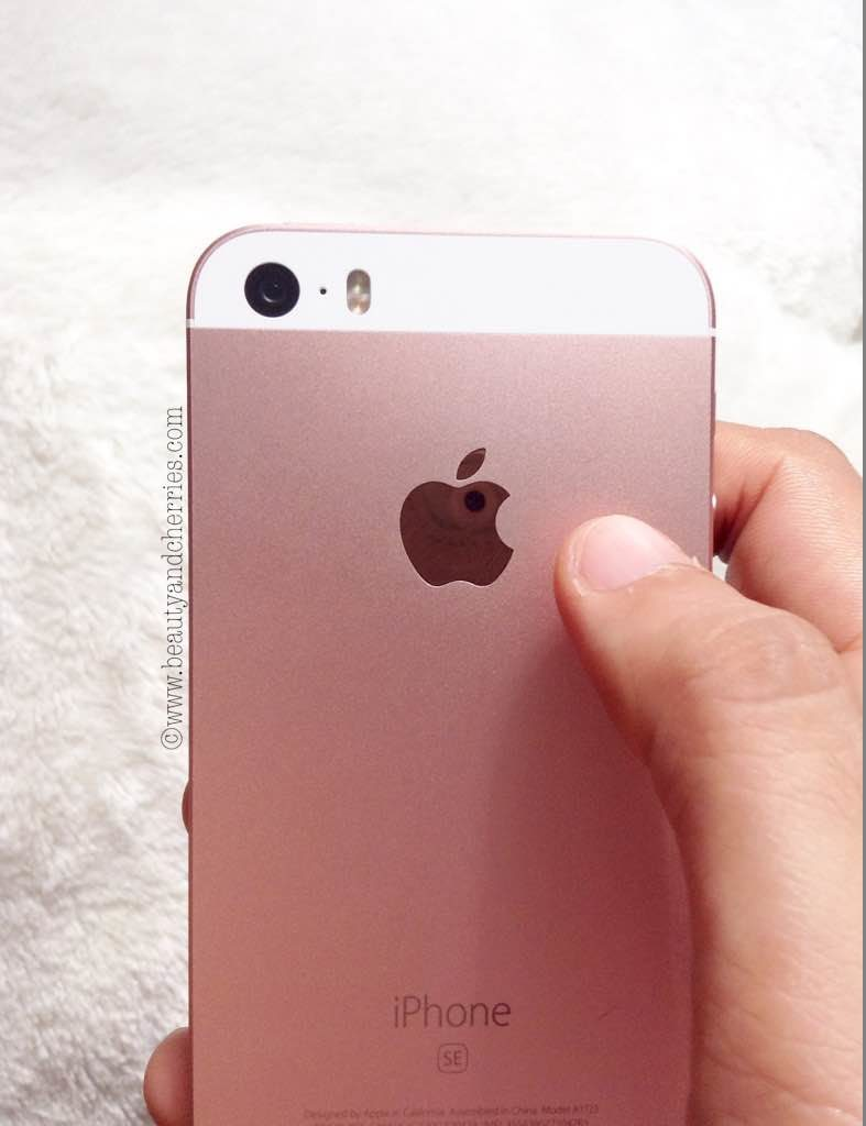 rose gold apple logo