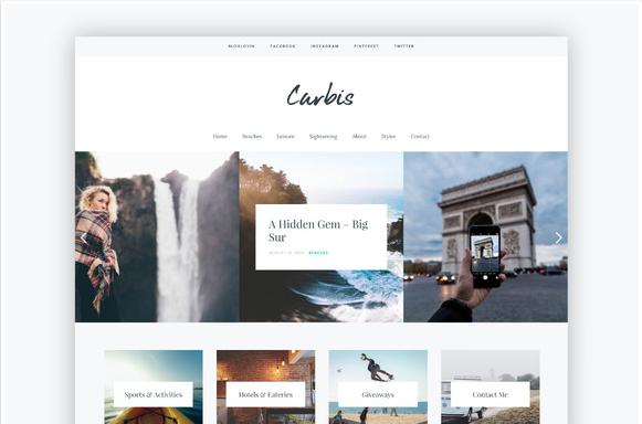 Carbis-wordpress-theme