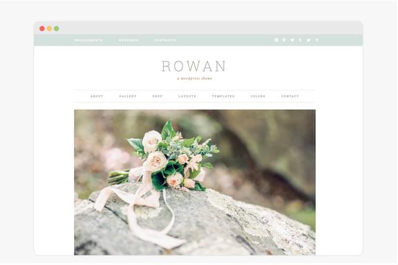 Rowan WordPress Themes