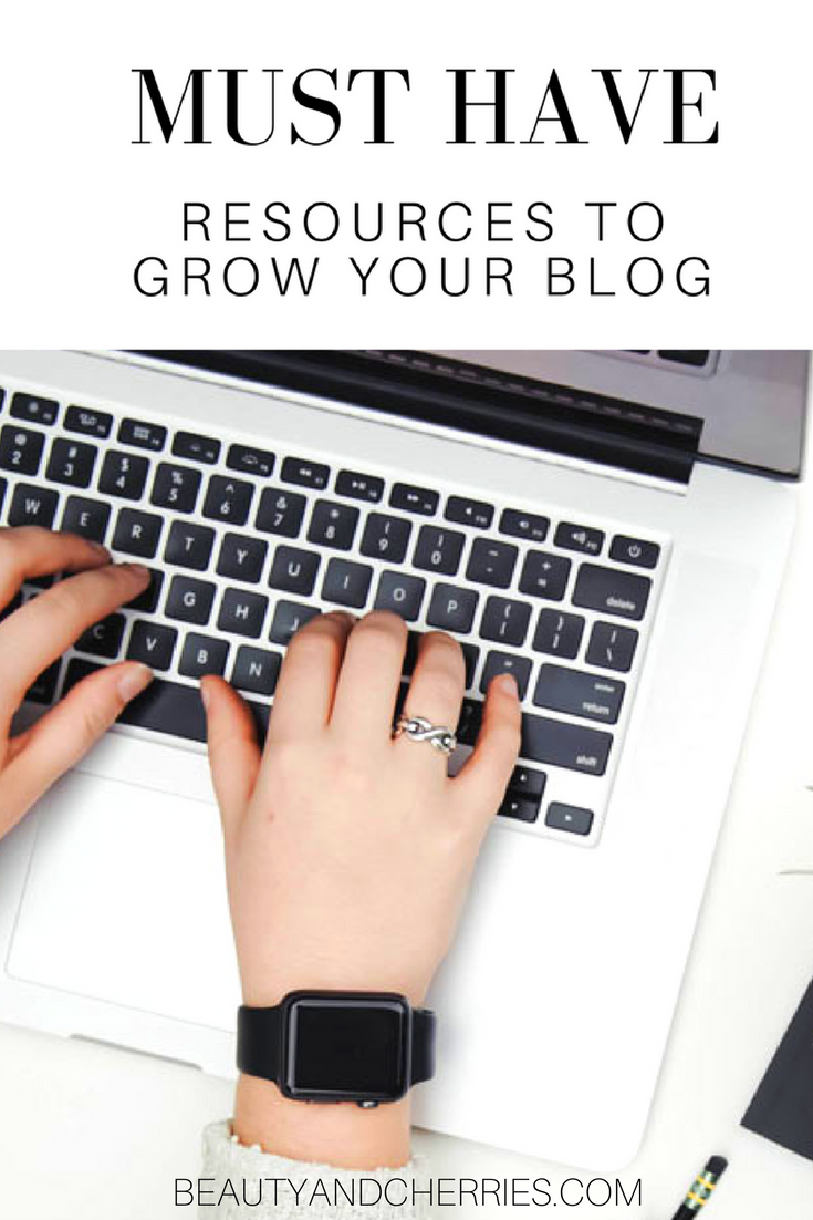 Click here to read the free and paid blogging resources you should be using to grow your blog