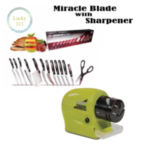 Miracle Blade with Knife Sharpener