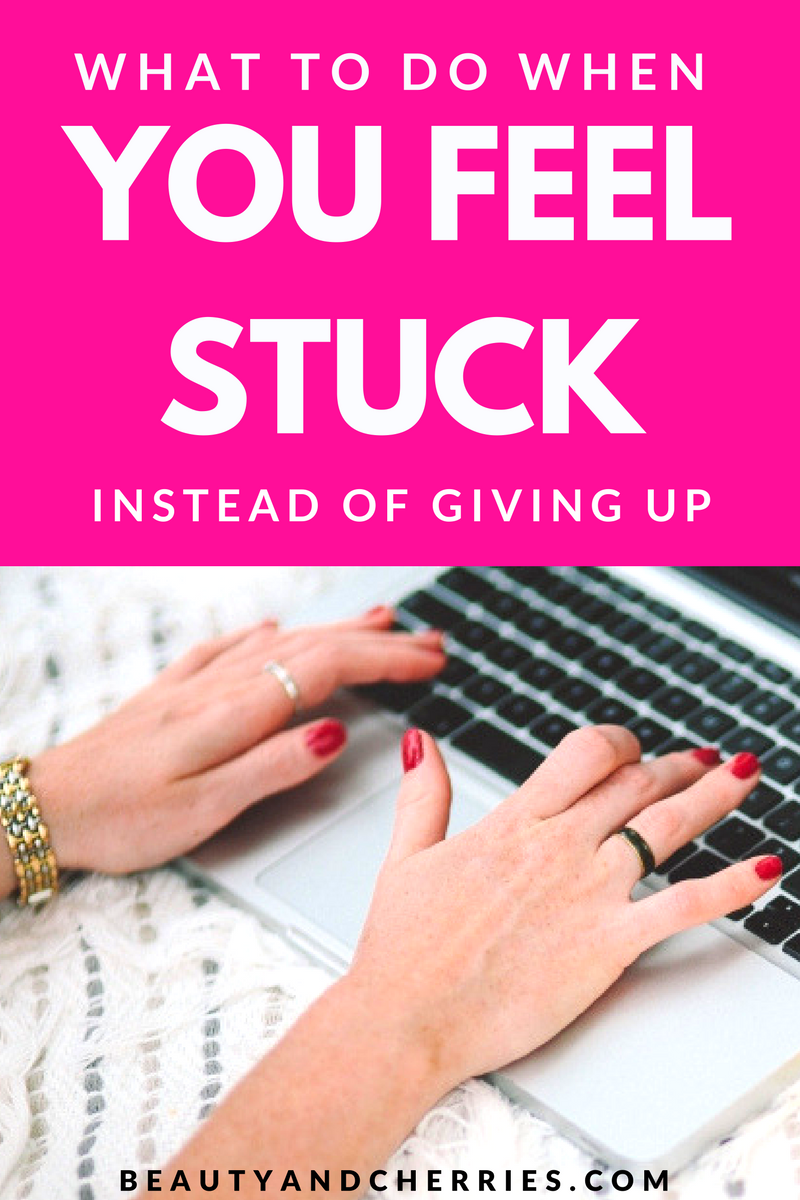 Not getting what you want? That feeling when you keep doing your best everyday but things aren't falling into place? Click through to get some insights on what you should do instead