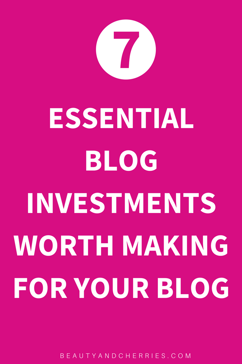 Did you know what every successful blog has made smart investments? If you are ready to take blogging into a full pledge business, click through to know the essential blog investments worth making that will help you succeed online