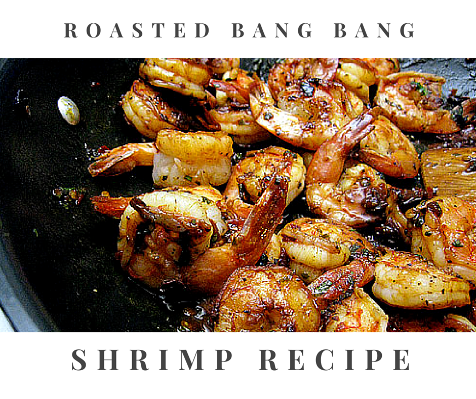 Roasted Bang Bang Shrimp Recipe