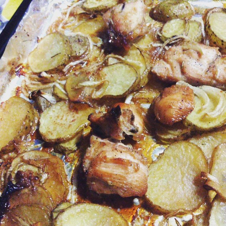 roast chicken fillet recipe