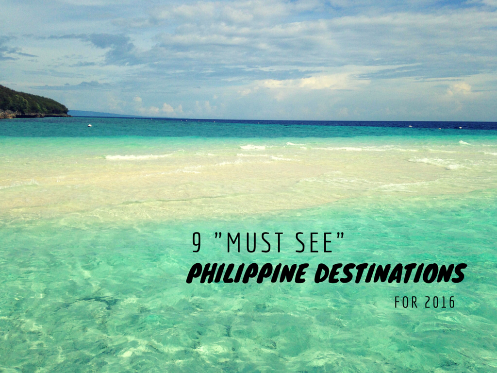9 Best Philippine Destinations for 2016