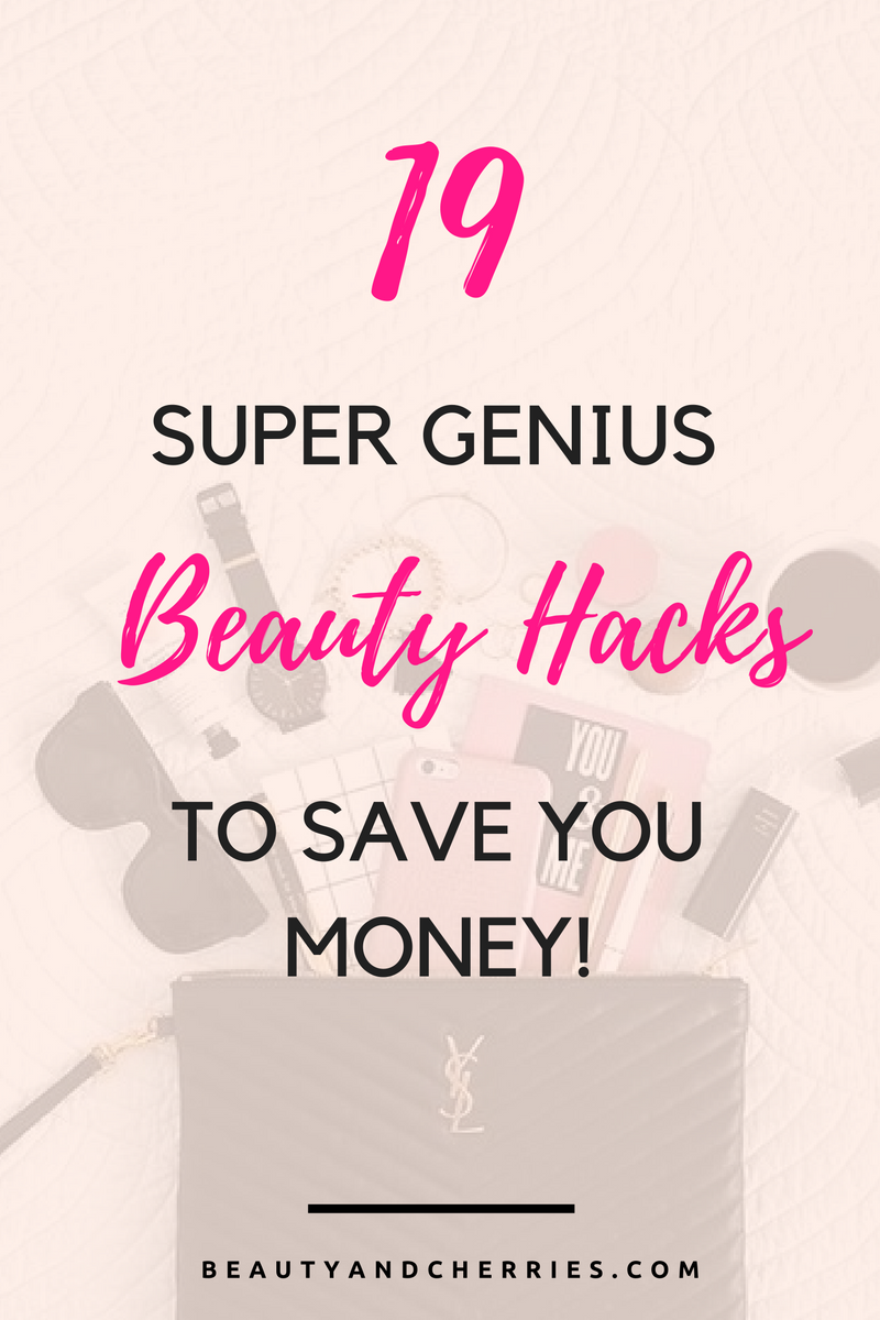 19 Super Genius Beauty Hacks To Save You Money