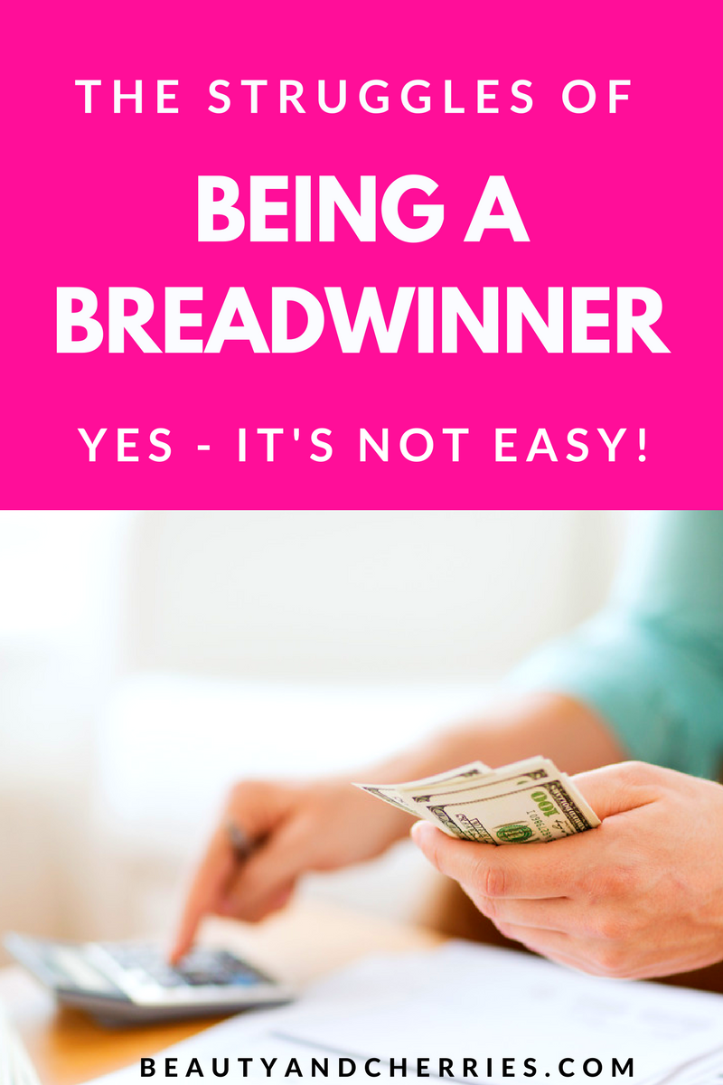 Are you a breadwinner? What are your struggles? Can you speak up?