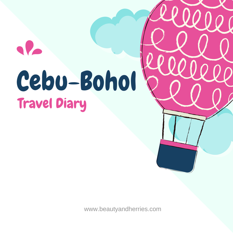 Cebu Bohol Travel Diary