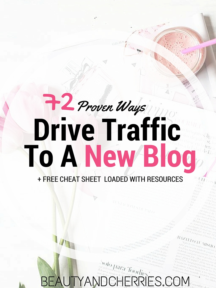 72 ways to drive traffic to a new blog