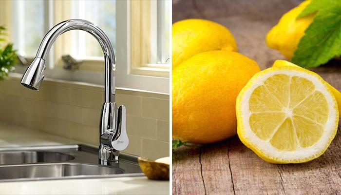 Cleaning hacks lemon has cleaning properties