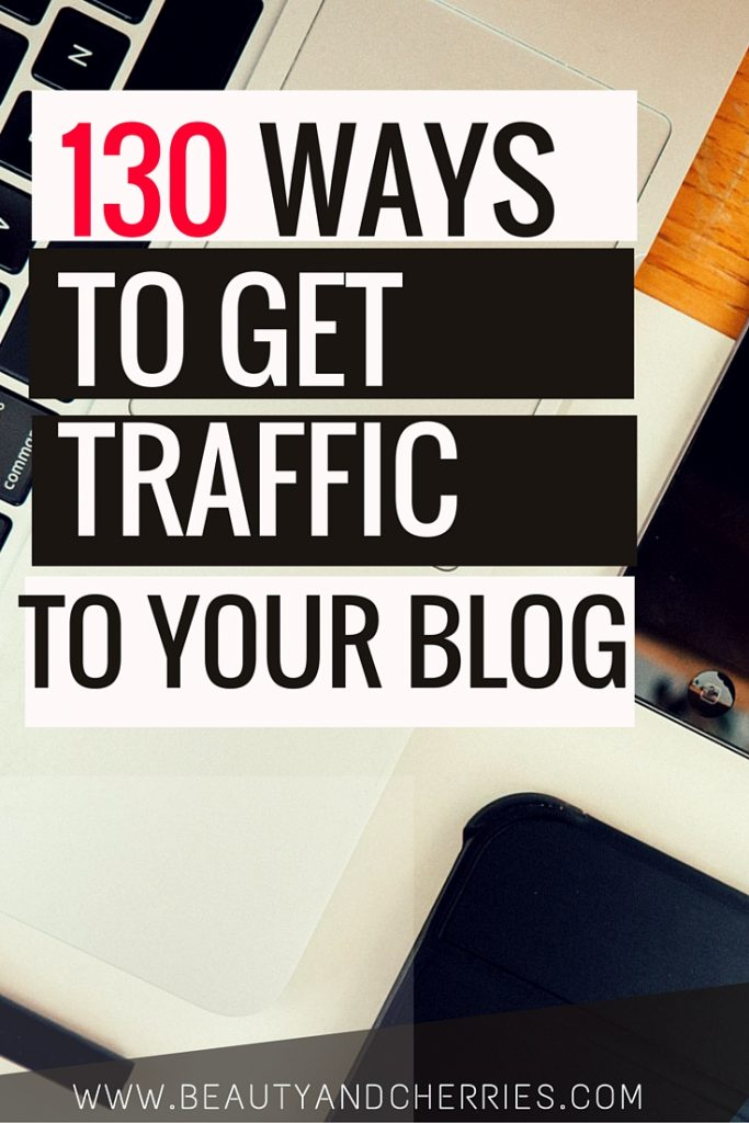 get more traffic to your blog
