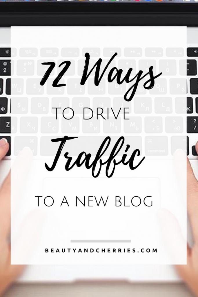 drive traffic new blog in wordpress