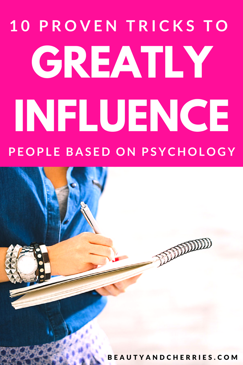 Want to influence and persuade people in business and daily life? Click through to read how effective it is when Psychology is used!