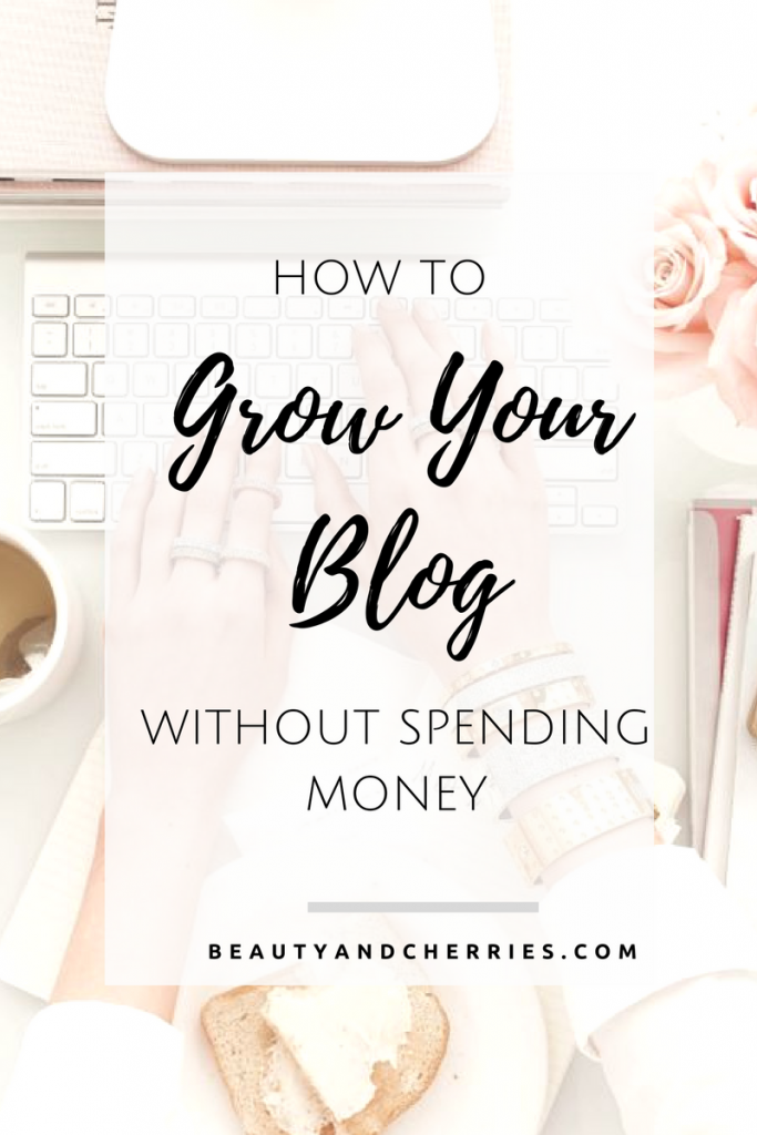 grow your blog without spending money