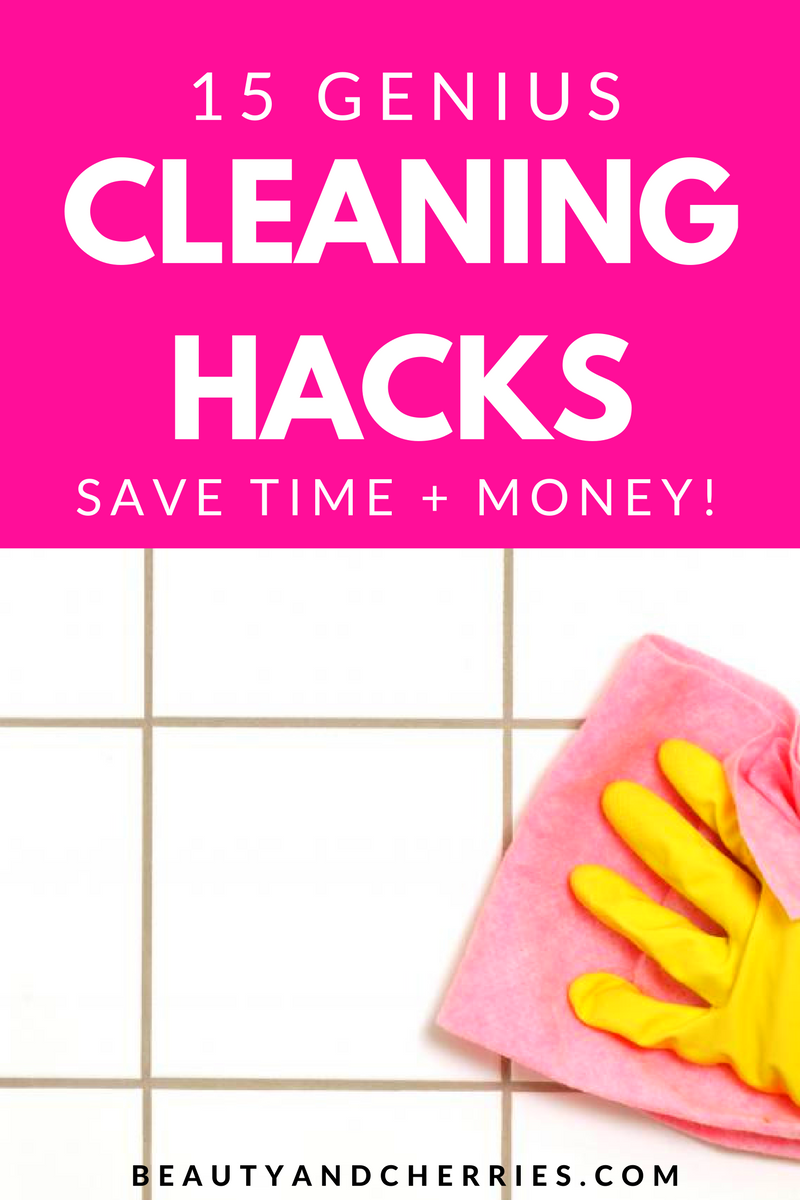 Want to make cleaning a little easier for you? Try these cleaning hacks that saved me tons of time and money! Click through to get read this now or PIN IN for later!