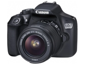 Canon EOS 1300D 18MP with EF-S 18-55mm Non-IS III Lens Kit with Free Sandisk Ultra SDHC Class 10 8GB in lazada