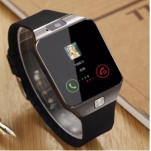M99 Quad Phone Bluetooth Touch Screen Smart Watch (Black:Silver)