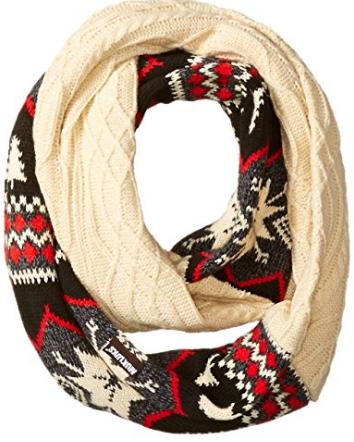 muk-luks-womens-lodge-eternity-scarf-traditional-marled