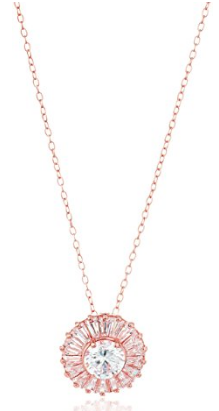 rose-gold-plated-sterling-silver-round-white-cubic-zirconia-6mm-halo-pendant-necklace