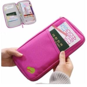 Travel Wallet Passport Ticket Holder Organizer