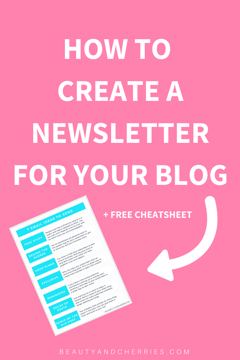 Did you know that an email list is your biggest asset as a blogger? Click through to start building an email list with complete step by step guide and get a free 7 ideas to send to your list