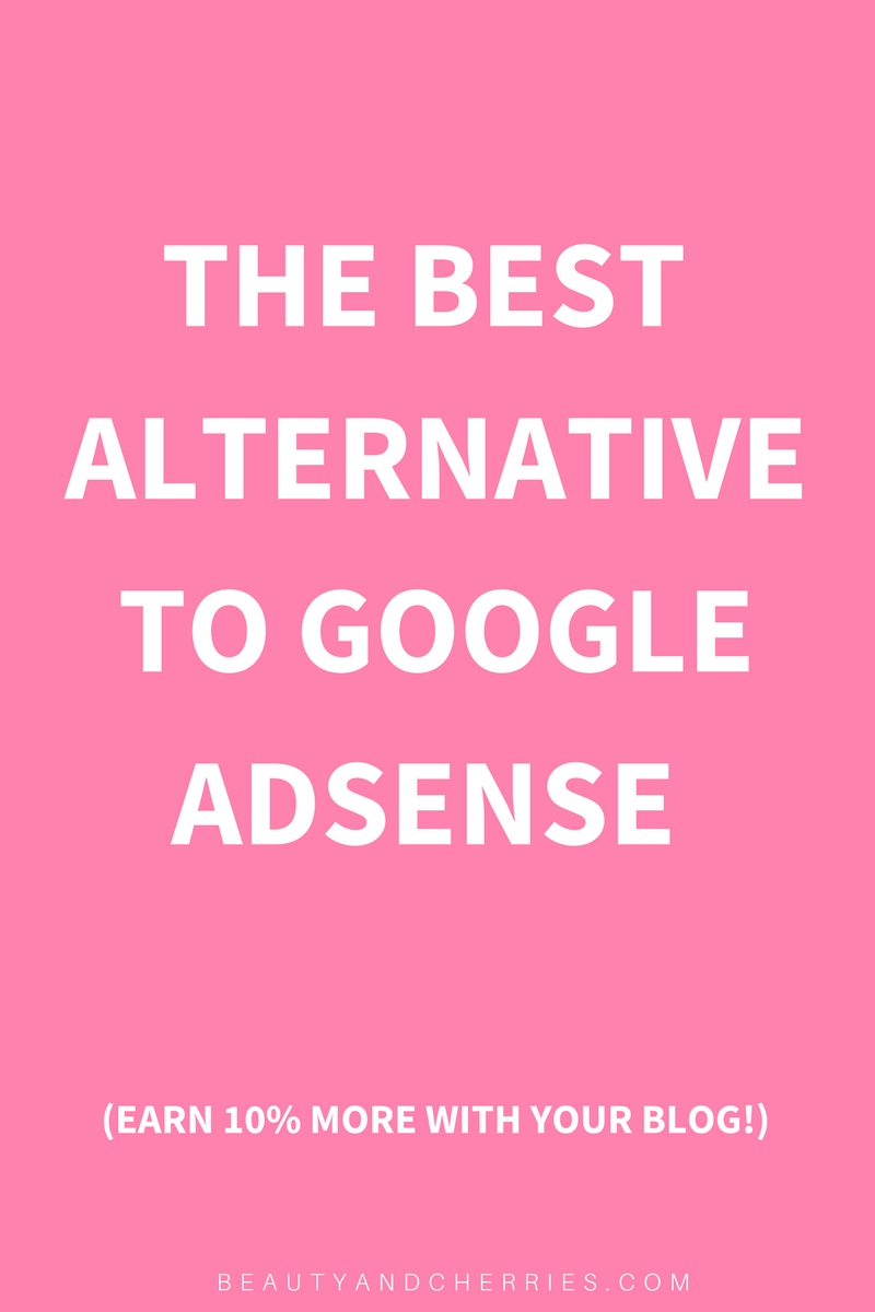 Click through to see the best alternative to Google Adsense to monetize your blog with minimum traffic pl