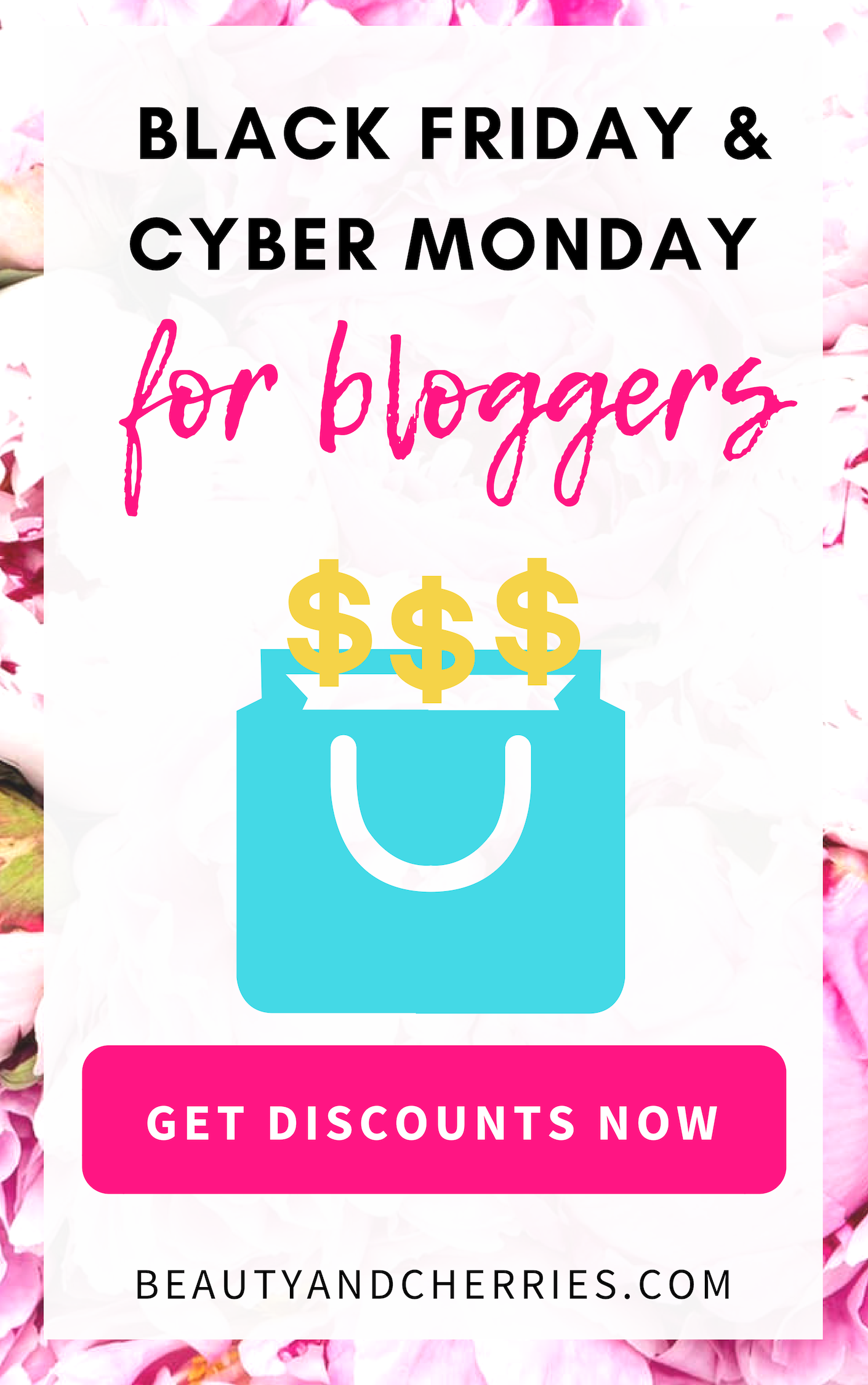 black friday and cyber monday deals for bloggers