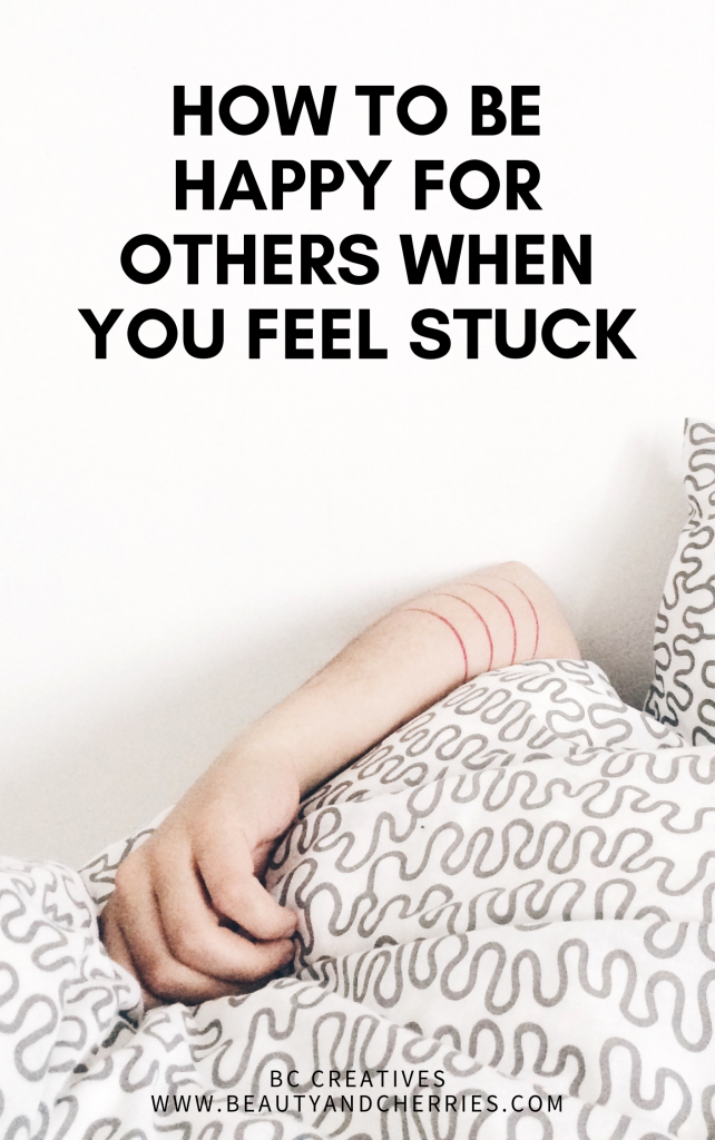 One of the hardest things to do when you feel stuck is to show up for others who do seem to have it all together. Here are few tips that will help.